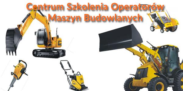 Maszyny budowlane – Rozpoczęcie kursu  20.10.2017 r. godz. 16:00