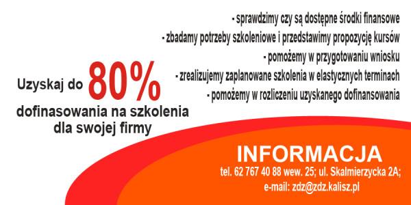 80 % dofinansowania dla MMŚP